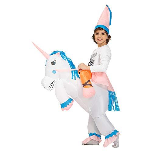 Kooy Inflatable Unicorn Costume Inflatable Halloween Costumes Inflatable Party Costumes Blow up Costumes -