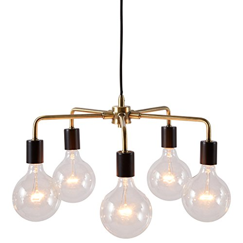Black And Gold Pendant Light in US - 7