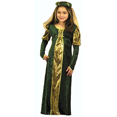 Girl's 16th Century Princess Costume (Size: Medium 8-10)