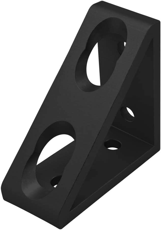 4136 80//20 Inc 10 Series 4 Hole Tall Inside Corner Gusset Bracket