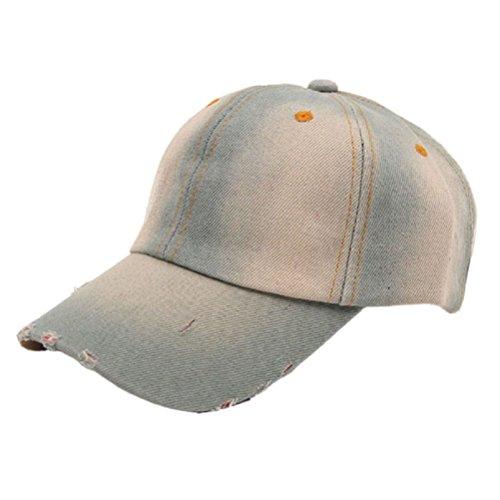Baseball Cap,Neartime Jean Sport Hat Denim Baseball Cap Sun Hat Hot Sale (C)