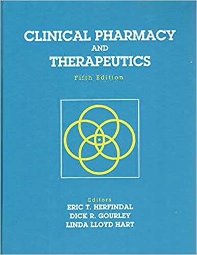 book therapeutics pharmacy clinical and