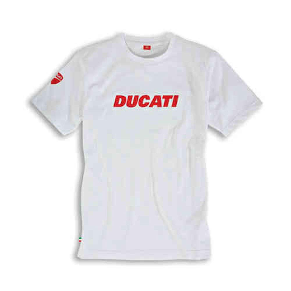 Ducati Ducatiana V2 Short Sleeved T-Shirt White XX-Large