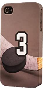 Basketball Sports Fan Player Number 03 Plastic Snap On Decorative iPhone 4/4s Case