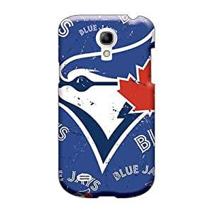 Protector Hard Cell-phone Case For Samsung Galaxy S4 Mini (vwf28119XTyV) Support Personal Customs Vivid Toronto Blue Jays Skin