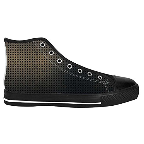 Dalliy Metal Mens Canvas shoes Schuhe Lace-up High-top Sneakers Segeltuchschuhe Leinwand-Schuh-Turnschuhe C