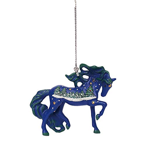 Enesco Trail of Painted Ponies White Christmas