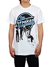 The Strokes Band Rock Music White T-Shirt