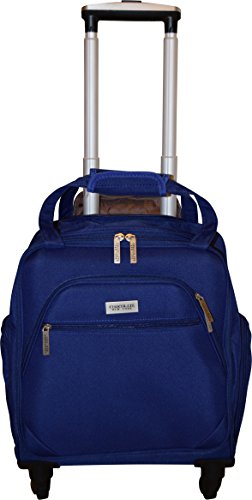 New York Chocolate Travel 18 Inch Carry-On Wheeled Luggage (Blue) by New York Chocolate Travel