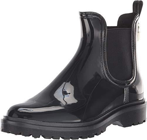 Michael Kors Rain Boots - Michael Michael Kors Womens Tipton Almond Toe Ankle Rainboots, Black, Size 8.0