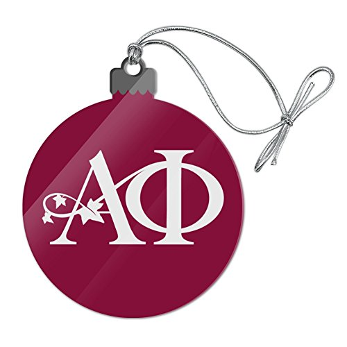 Graphics and More Alpha Phi International Women's Fraternity Sorority Logo Acrylic Christmas Tree Holiday Ornament