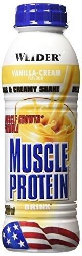 Weider Vanilla 500ml Muscle Protein Drink - Drinks by Weider by Weider