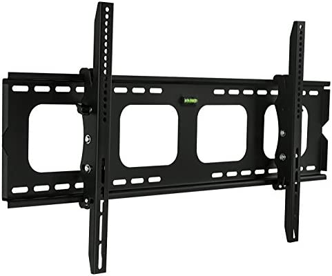 Mount-It Large Tilting TV Wall Mount Bracket 42 43 50 55 58 65 70 75 80 Inch 220 Pound Capacity VESA Compatible Low Profile Flat Screens