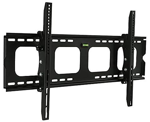 Mount-It! Tilting TV Wall Mount Bracket For Samsung Sony Vizio LG Panasonic TCL VESA 200x200 400x400 600x400 850x450 Compatible Premium Tilt 220 Lbs Capacity, Size 42-80 (Cover De Lg 70)