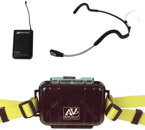 Amplivox S1647T Waterproof Fitness Package with Transmitter
