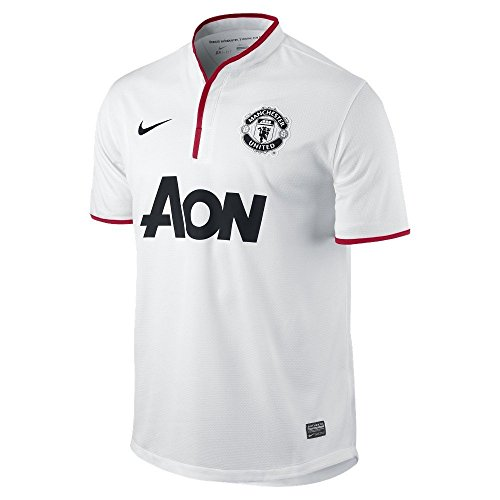 Nike Manchester United 2012/13 Away Soccer Jersey - White (X-Large)