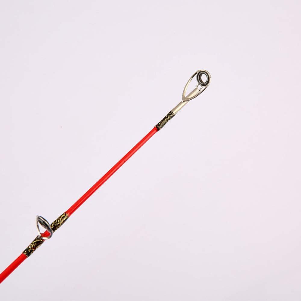 ZJPQ Angelrute für den Außenbereich, Schwarz, 2,4 m
