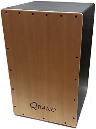 Qbano 7M44M - Cajón flamenco, color madera: Amazon.es: Instrumentos musicales