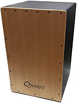Qbano 7M44M - Cajón flamenco, color madera