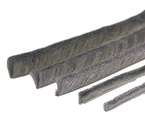 6,7mm Fu/ß, 9mm B/ürstendichtung Meterware grau von 5 bis 25mm B/ürsten alle Gr/ö/ßen Insektenschutz Fliegengitter Rolladen