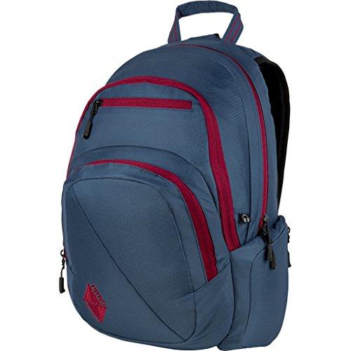 Nitro Stash Rucksack, Schulrucksack, Schoolbag, Daypack, Canyon, 49 x 32 x 22 cm, 29 L Blue Steel