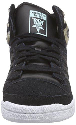 F15 Top st mist Noir core core Slate Black Schwarz Ten Femme Baskets Hi Black Adidas Basses Originals 5n0aTnHZ