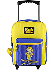 Bob the Builder Large Rolling Backpack / Kids Luggage
