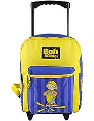 Bob the Builder Large Rolling Backpack / Kids Luggage