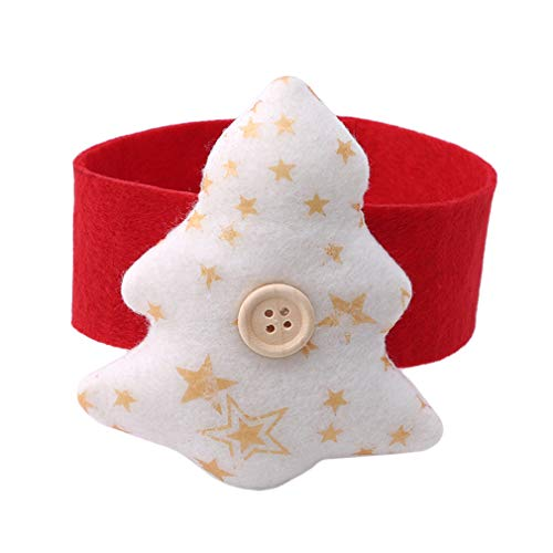 EH-LIFE Star Heart Christmas Tree Towel Rack Fabric Ring Party Table Decor by EH-LIFE (Image #1)
