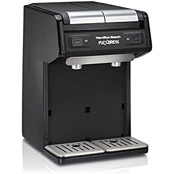 Hamilton Beach 49998 FlexBrew Dual Single Serve Coffee Maker, Black