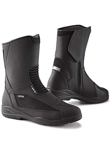 - Cotton Exchange TCX Black Explorer Evo GTX Motorcycle Boots (US 13, Black)