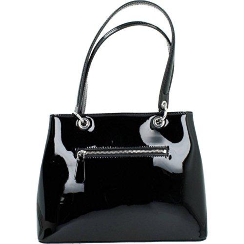 Shoppers y bolsos de hombro para mujer, color Negro , marca GUESS, modelo Shoppers Y Bolsos De Hombro Para Mujer GUESS HWPT66 Negro Negro
