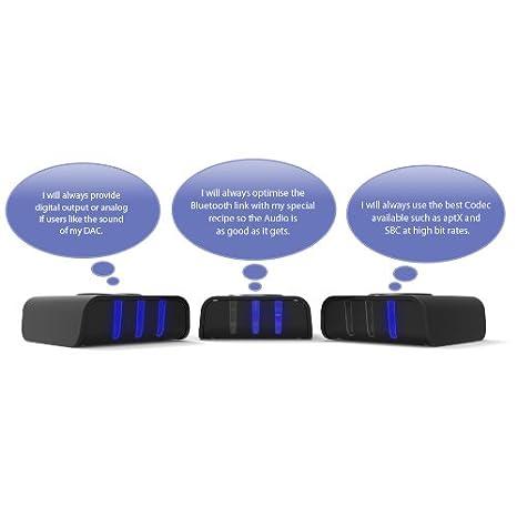 LAYEN Jambadoo - Receptor Bluetooth de audio 4.0 con múltiples conexiones: Amazon.es: Electrónica