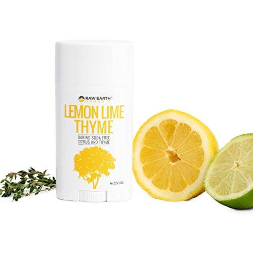 Raw Earth Organic All Natural Vegan Magnesium Deodorant - Baking Soda & Aluminum Free - Lemon / Lime / Thyme (2.5oz) by Raw Earth Organic (Image #4)
