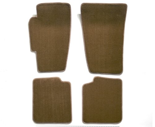 Premier Custom Fit 4-piece Set Carpet Floor Mats for Volkswagen Beetle (Premium Nylon, Beige)