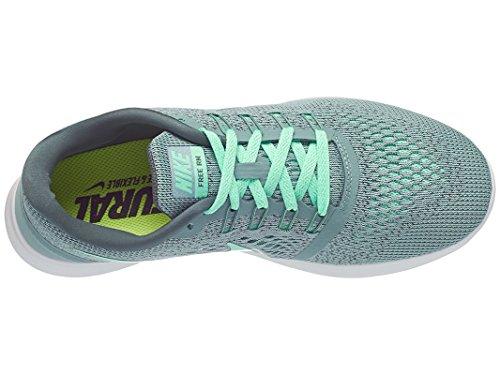 Nike Vrouwen Gratis Rn Loopschoen Kanon / Groene Gloed / Hasta / Off White Maat 11 M Ons