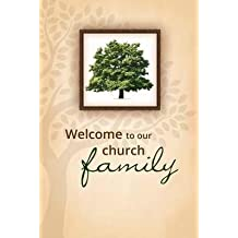 Welcome Folder - Welcome To Our Church Family/Tree (Pack Of 12)