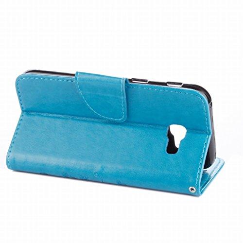 Orso Per A520f Con Fortunato Lemorry Pelle Galaxy A5 Silicone Azzurro Magnetico Protettivo 2017 2017 Cover Cinghia grigio Samsung Polso Morbido Cuoio Borsa Portafoglio Custodia Albero TRqdq1Xx