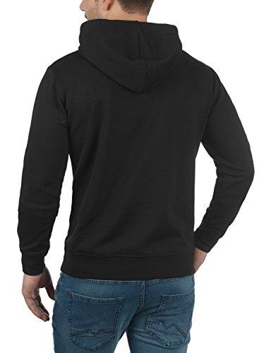 Con Olli Hoodie Capucha Black Para Al Hombre Suave Forro solid Tacto Suéter 9000 Sudadera Polar AUdqSAwE