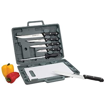 New Maxam® Knife Set with Cutting Board in A Box