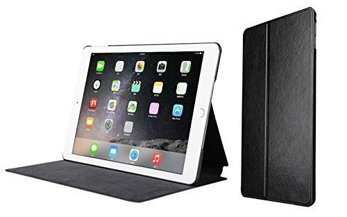 Bear Motion for iPad Air 2 - Slim Multi-Position Standing Folio Case for iPad Air 2 - Black