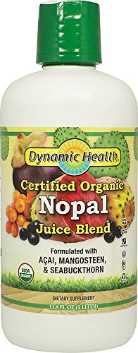 Dynamic Health Organic Certified Nopal Juice Blend Nopal - 33.8 fl oz