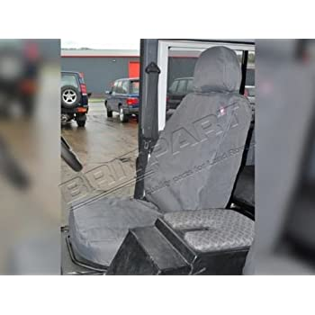 Swell Amazon Com Land Rover Defender 90 110 2007 On Front Seats Short Links Chair Design For Home Short Linksinfo