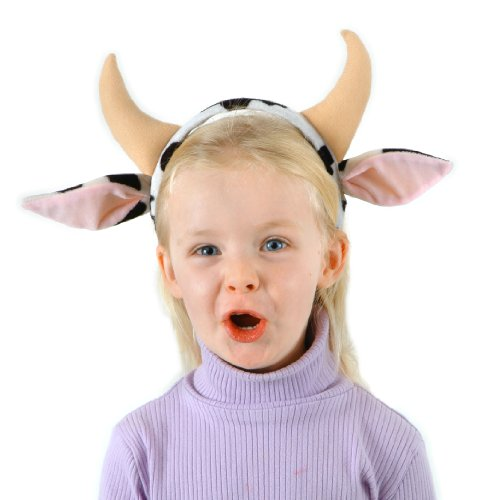 [Elope Cow Headband] (Cow Head Hat Adult)