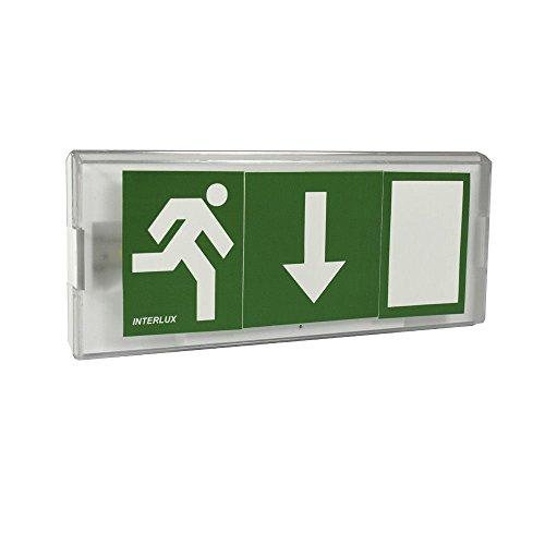 LED Fluchtwegleuchte UNTEN Notbeleuchtung Notleuchte Notausgang