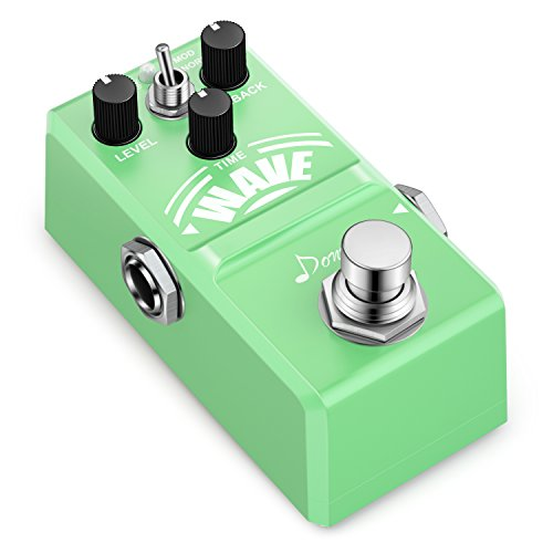 (Donner Wave Analog Delay Guitar Effect Pedal Super Mini)