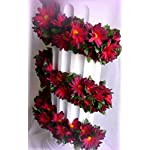 Inna-Wholesale-Art-Crafts-New-Burgundy-Daisy-Chain-Garland-Silk-Decorating-Flowers-Arch-Gazebo-Decor-Perfect-for-Any-Wedding-Special-Occasion-or-Home-Office-Dcor