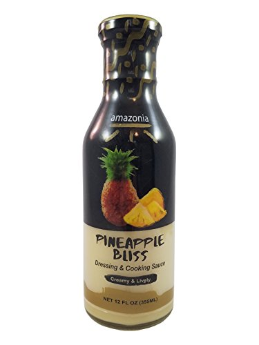 Buy One - Get One Free!!! - Amazonia's Gourmet Dressing and Cooking Sauce Variety 2-Pack Value (Passion Fruit and Pineapple), Gluten-Free, No Trans Fat, 100% Natural Flavors - 24 ounces by Amazonia (Image #2)