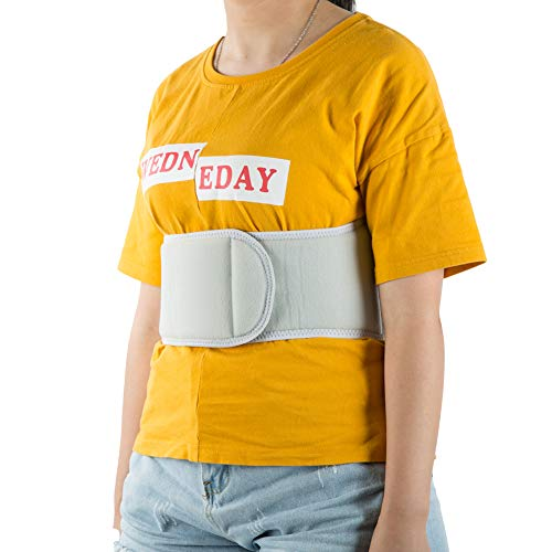 Rib Belt for Women, Elastic Rib Injury Binder Support Belt Rib Cage Protector Wrap for Sore or ()