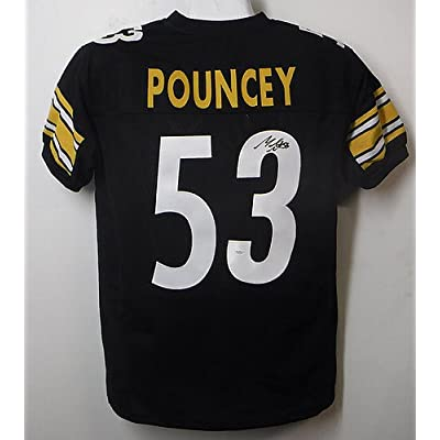 157dd862da7 Maurkice Pouncey Autographed Autographed Pittsburgh Steelers Size XL Black  Jersey - JSA Certified